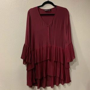 Zara Pleated Tunic